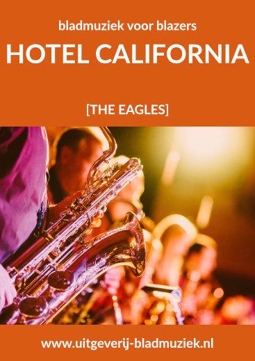 Bladmuziek van Hotel California door The Eagles