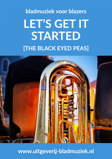 Bladmuziek van Let's Get It Started door The Black Eyed Peas
