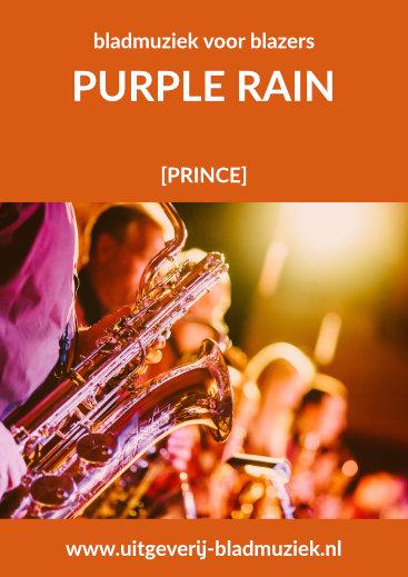 Bladmuziek van Purple Rain door Prince
