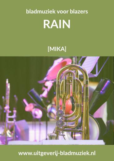 Bladmuziek van Rain  door Mika