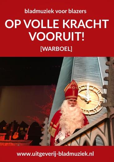 Bladmuziek van Op Volle Kracht Vooruit! door Warboel