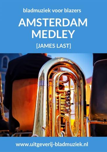 Bladmuziek van Amsterdam Medley door James Last