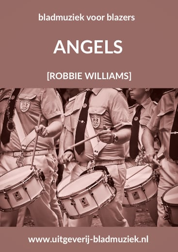 Bladmuziek van Angels door Robbie Willliams