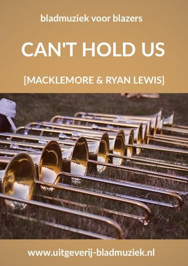 Bladmuziek Can't hold us