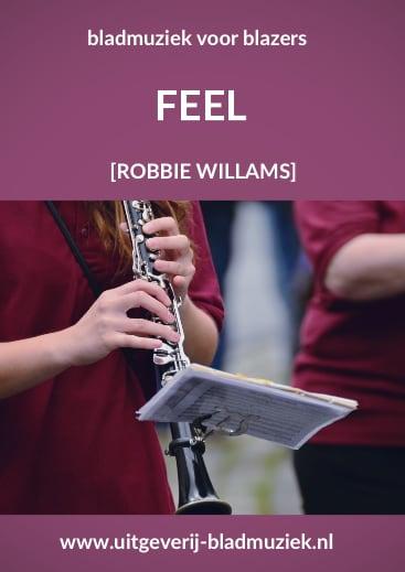 Bladmuziek van Feel door Robbie Williams