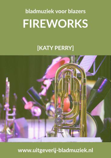 Bladmuziek van Fireworks door Katy Perry