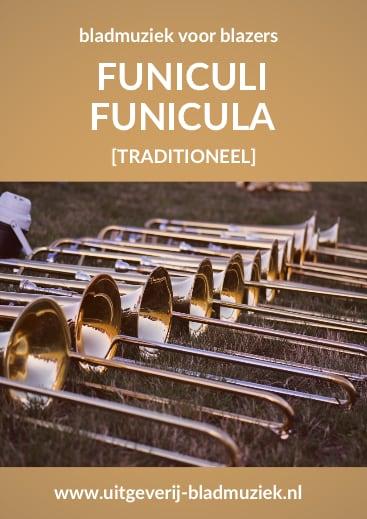 Bladmuziek van Funicoli Funicola door Richard Strauss