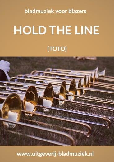 Bladmuziek van Hold The Line door Toto
