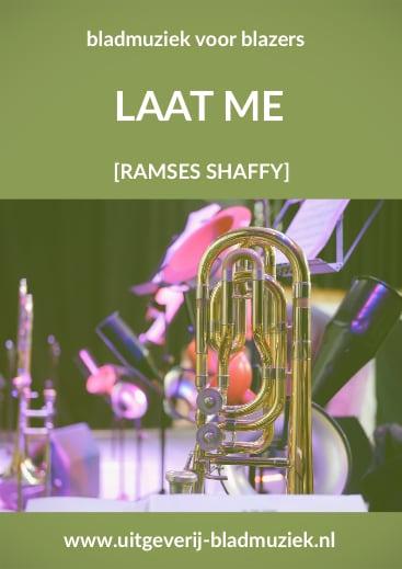 Bladmuziek van Laat me (Vivre) door Ramses Shaffy
