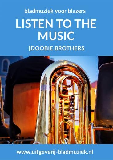 Bladmuziek van Listen to the music door Doobie Brothers