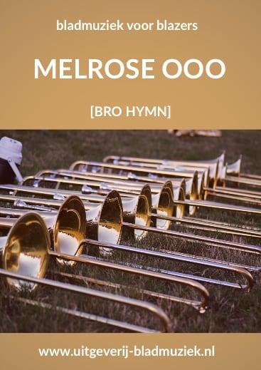 Bladmuziek van Melrose O door Bro Hymn
