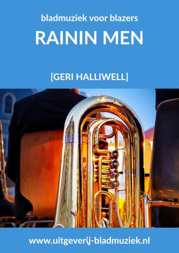 Bladmuziek van Rainin Men door Geri Halliwell