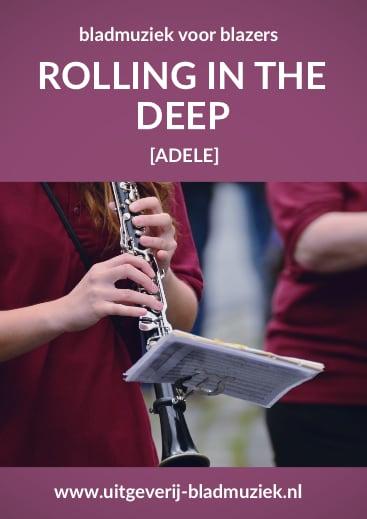 Bladmuziek van Rolling In The Deep door Adele