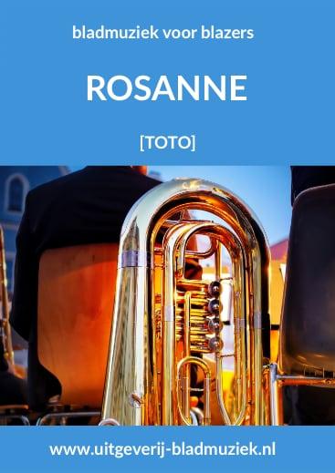 Bladmuziek van Rosanna  door Toto