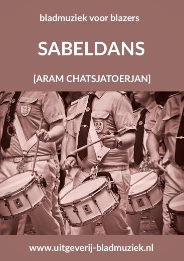 Bladmuziek van Sabeldans door Aram Chatsjatoerjan