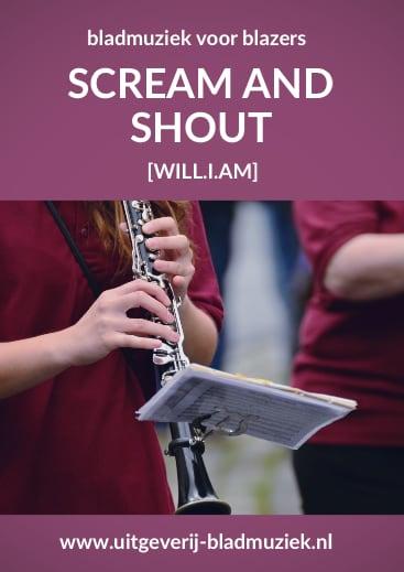 Bladmuziek van Scream And Shout door Will.i.am