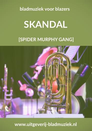 Bladmuziek van Skandal door Spider Murphy Gang