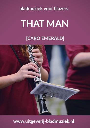 Bladmuziek van That Man door Caro Emerald