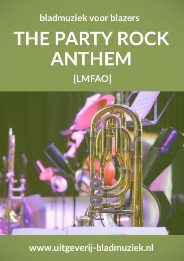 Bladmuziek van The Party Rock Anthem door LMFAO