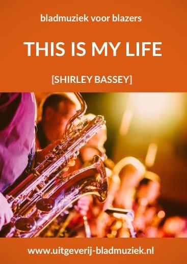 Bladmuziek van This Is My Life door Sherly Bassey