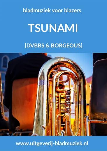 Bladmuziek van Tsunami door DVBBS & Borgeous