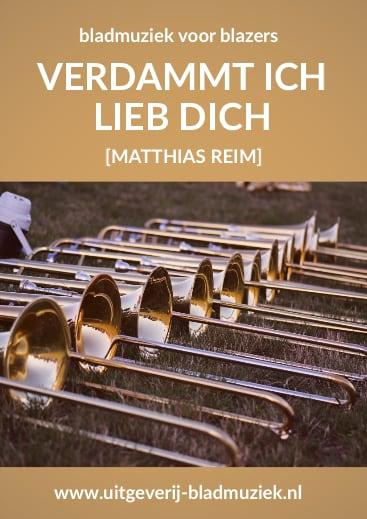 Bladmuziek van Verdammt Ich Liebe Dich door Matthias Reim