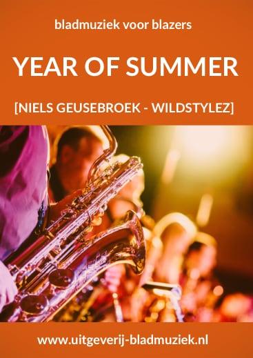 Bladmuziek van Year Of Summer door Niels Geusebroek